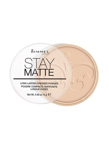 Rimmel London Stay Matte Pressed Powder Pudra  003-Peach Glow-Rimmel London